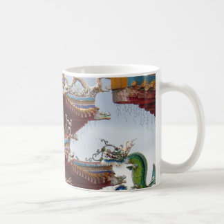 Chinesischer Tempel Kaffeetasse