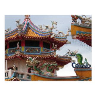 Chinesischer Tempel Postkarte