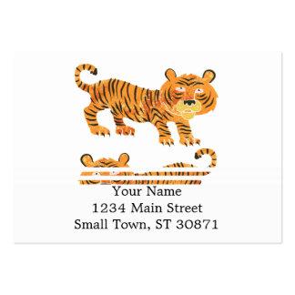 chinesischer Tiger Jumbo-Visitenkarten