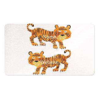 chinesischer Tiger Visitenkarten