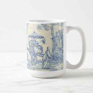 Chinesisches blaues Toile Kaffeetasse