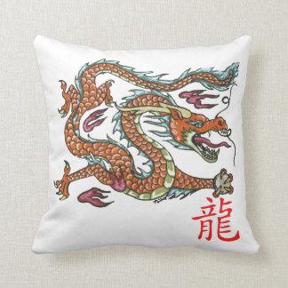 asiatischer drache kissen. Black Bedroom Furniture Sets. Home Design Ideas