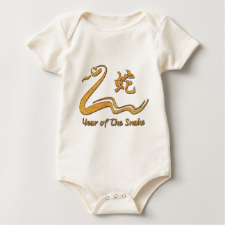 Chinesisches Jahr der hölzernen Schlange 1965 Baby Strampler