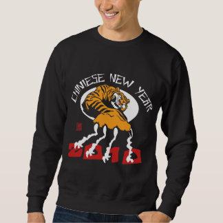 Chinesisches Jahr des Schwarzen des Tiger-2010 Sweatshirt