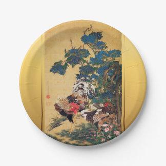 Chinesisches Japaner-Kunstdruckpapier P des Pappteller