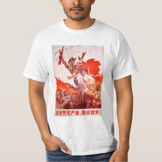 Chinesisches Kunst-Plakat T-Shirt