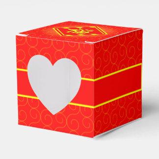 Chinesisches Neujahrsfest • Glückliches Fu Symbol Geschenkschachtel