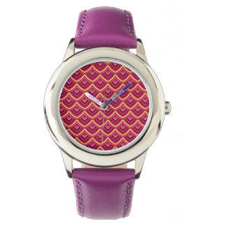 Chinesisches Papier-Drache-Mode-Uhr durch Julie Armbanduhr
