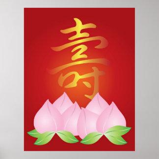 Chinesisches Poster