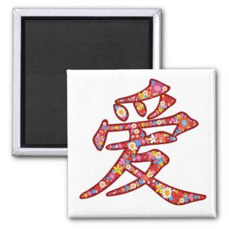 Chinesisches Quadratischer Magnet