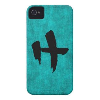 Chinesisches Schriftzeichen-Malerei für Krieger im iPhone 4 Case-Mate Hülle