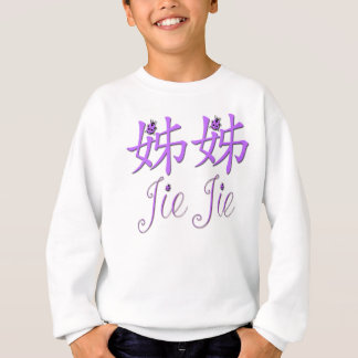 Chinesisches Sweatshirt Jie Jie (große Schwester)
