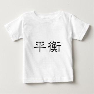 Chinesisches Symbol für Balance Baby T-shirt