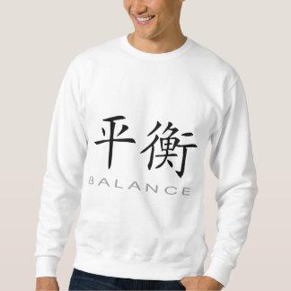 Chinesisches Symbol für Balance Sweatshirt