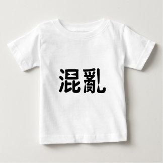 Chinesisches Symbol für Chaos Baby T-shirt