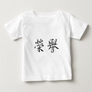 Chinesisches Symbol für Ehre Baby T-shirt