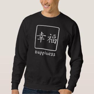 Chinesisches Symbol für Glück Sweatshirt