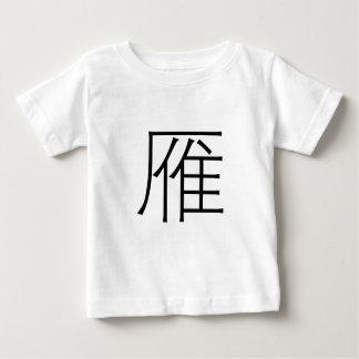 Chinesisches Symbol für wilde Gans Baby T-shirt