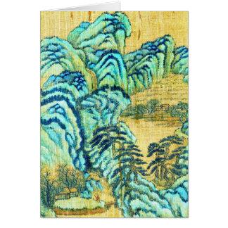 Chinesisches Teehaus 1730 Karte
