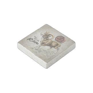 Chinesisches Tierkreis-Jahr der RAM-Kunst Steinmagnet