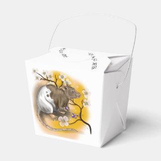 Chinesisches Tierkreis-Jahr der Ratte Geschenkschachtel