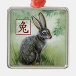 Chinesisches Tierkreis-Jahr der Weihnachtsornament