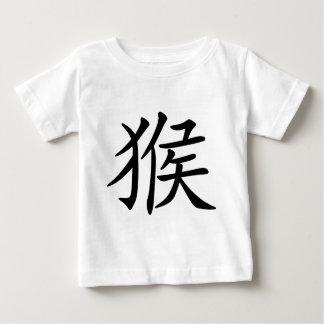 Chinesisches Tierkreis-Jahr des Affe-Symbols Baby T-shirt