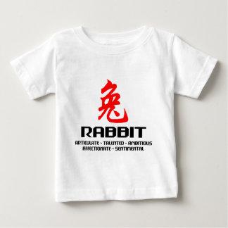 Chinesisches Tierkreis-Jahr des Kaninchen-T - Baby T-shirt