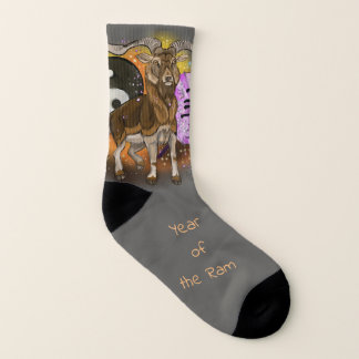 Chinesisches Tierkreis-Jahr des RAMs Socken