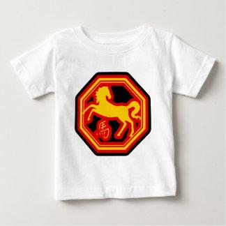 Chinesisches Tierkreis-Pferd Baby T-shirt