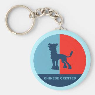 Chinesisches US-Stil keychain mit Haube Schlüsselanhänger