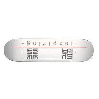 Chinesisches Wort für das Inspirieren von 10299_0. Skateboard Brett