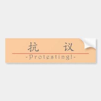 Chinesisches Wort für den Protest! 10158_1.pdf Autosticker