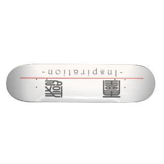 Chinesisches Wort für Inspiration 10298_0.pdf Personalisierte Skateboarddecks