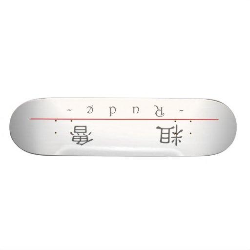 Chinesisches Wort für unhöfliches 10054_2.pdf Skateboardbretter