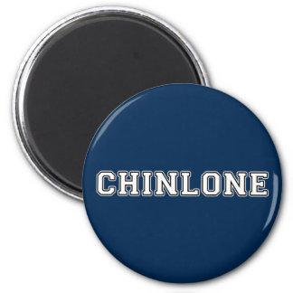 Chinlone Runder Magnet 5,7 Cm