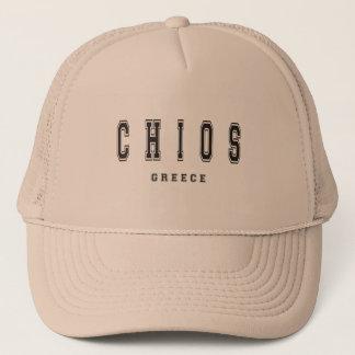 Chios Griechenland Truckerkappe