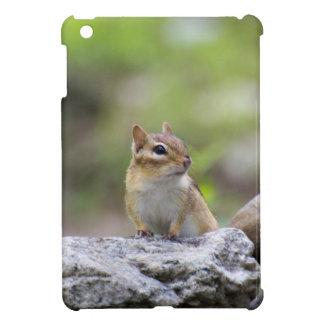 Chipmunk auf einem Felsen iPad Mini Hülle