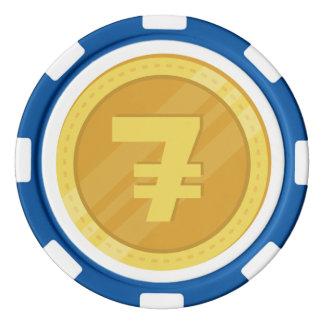 Chips des Poker-7coin Poker Chip Set