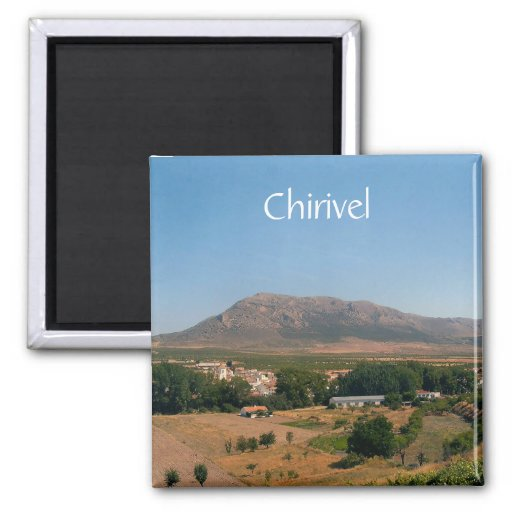 Chirivel, Almeria, Andalusien, Spanien-Magnet Kühlschrankmagnet