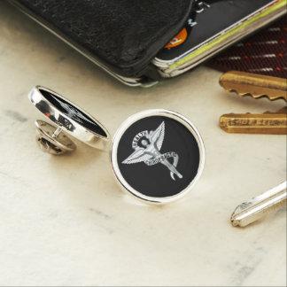 Chiropraktik-Emblem-Chiropraktor-Revers Pin