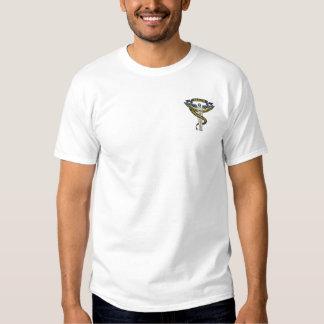 Chiropraktik-Logo Besticktes T-Shirt