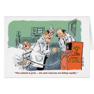 Chirurgischer Patient mit niedriger Karte