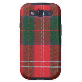 Chisholm schottischer Tartan Samsung rufen Fall an Samsung Galaxy S3 Schutzhülle