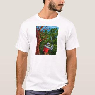 Chivalry-Ritter-mittelalterliche Rüstungs-Klinge T-Shirt