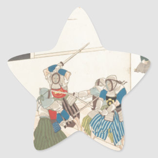 Chiyoda Schloss (Album der Männer) Toyohara Stern Aufkleber