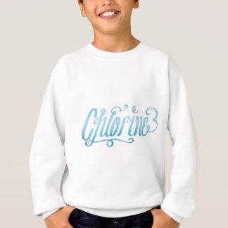 Chlor-Schwimmer-Skript Sweatshirt