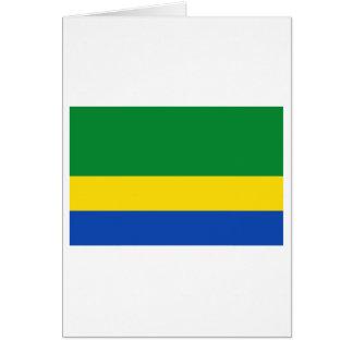 Chocó Flagge Karte