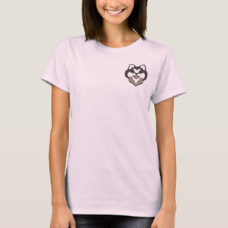Choco Shiba Inu Komfort-T-Stück (Rosa) T-Shirt