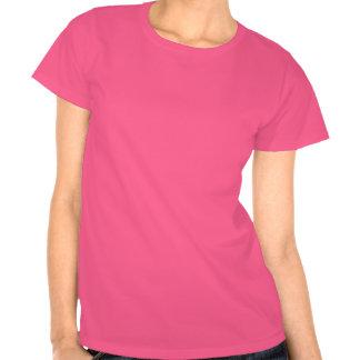 Chocoholic, dunkles Brown und rotes Herz-lustiger T Shirts